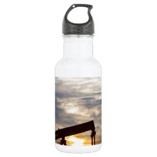 Autobomba del aceite en la imagen de la vertical