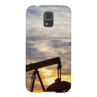 Autobomba del aceite en la imagen de la vertical funda de galaxy s5