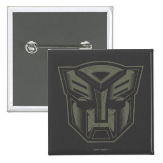 Autobot agrietó símbolo pin