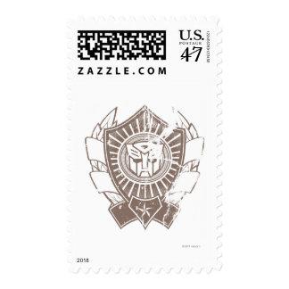 Autobot apenó la insignia 2 sellos