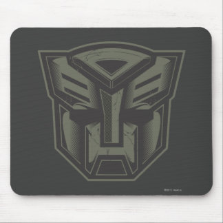 Autobot Cracked Symbol Mouse Pad