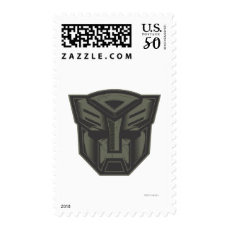 Autobot Cracked Symbol Postage