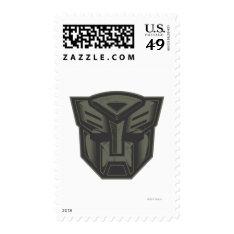 Autobot Cracked Symbol Postage at Zazzle