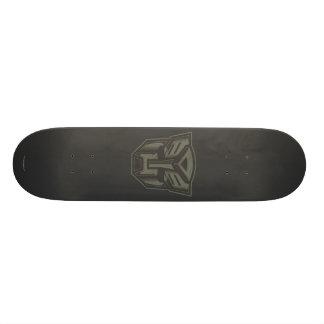 Autobot Cracked Symbol Skateboard