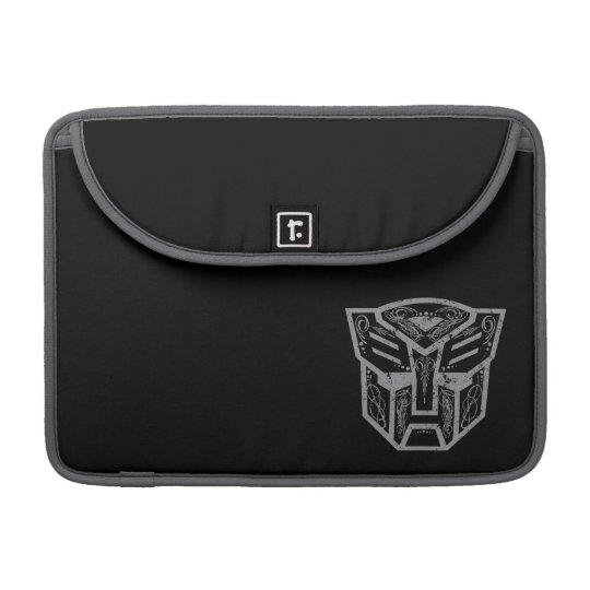 Autobot Decorative Symbol MacBook Pro Sleeve