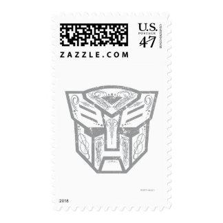 Autobot Decorative Symbol Postage Stamp