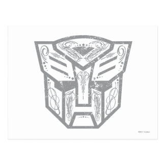 Autobot Decorative Symbol Postcard