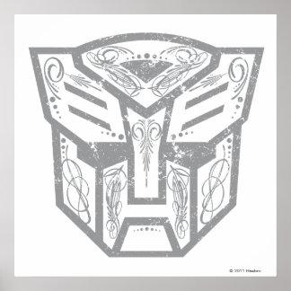 Autobot Decorative Symbol Poster