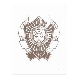 Autobot Distressed Badge 2 Postcard
