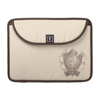 Autobot Distressed Badge MacBook Pro Sleeve
