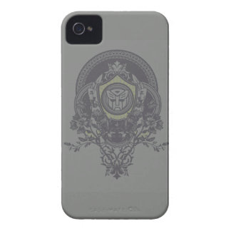Autobot Floral Badge 2 iPhone 4 Covers