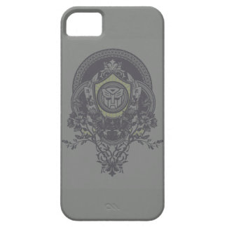 Autobot Floral Badge 2 iPhone 5 Cases