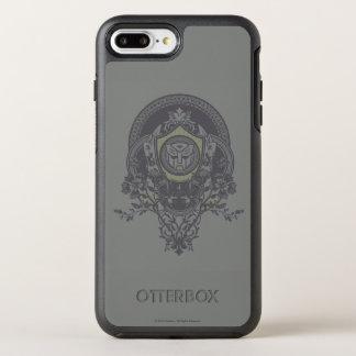 Autobot Floral Badge 2 OtterBox Symmetry iPhone 7 Plus Case