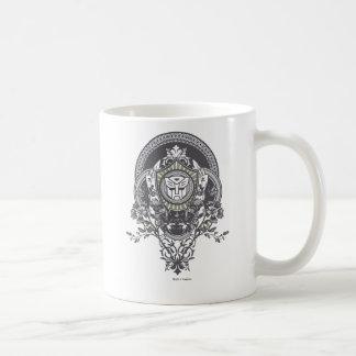 Autobot Floral Badge Coffee Mug