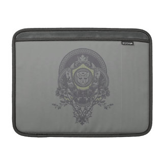 Autobot Floral Badge MacBook Air Sleeve