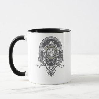 Autobot Floral Badge Mug