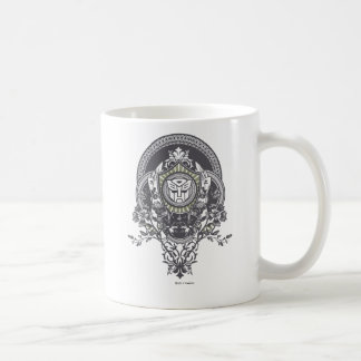 Autobot Floral Badge Coffee Mugs