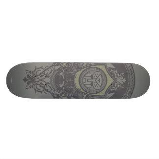 Autobot Floral Badge Skateboard Deck