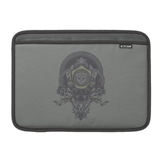 Autobot Floral Badge Sleeve For MacBook Air