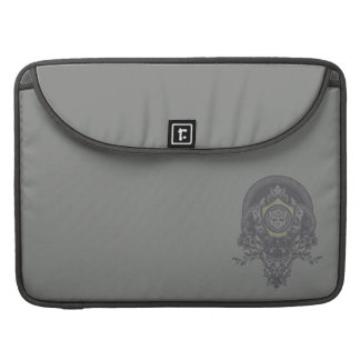 Autobot Floral Badge Sleeves For MacBook Pro
