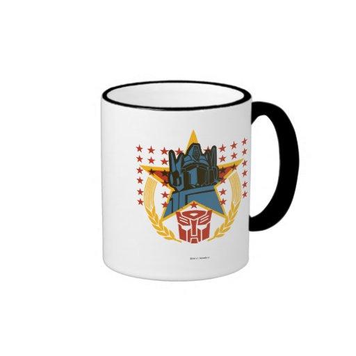 Autobot Patriotic Badge Mug