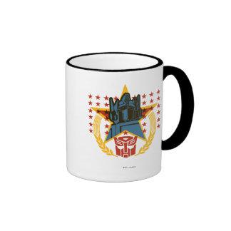 Autobot Patriotic Badge Ringer Mug