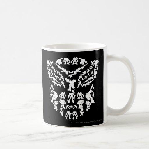 Autobot Shield Collage (White) Coffee Mug