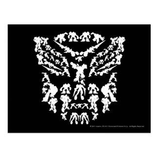 Autobot Shield Collage (White) Postcard