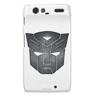 Autobot Shield Metal Droid RAZR Cases