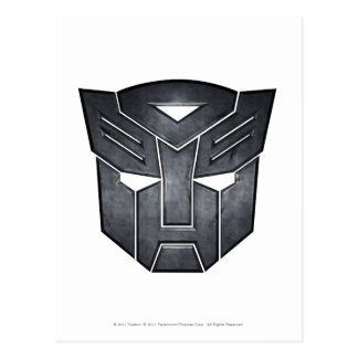 Autobot Shield Metal Post Cards
