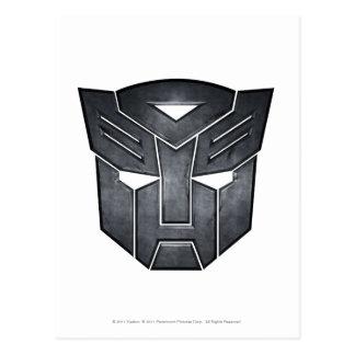 Autobot Shield Metal Postcard