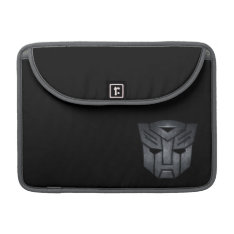 Autobot Shield Metal Sleeve For Macbooks at Zazzle