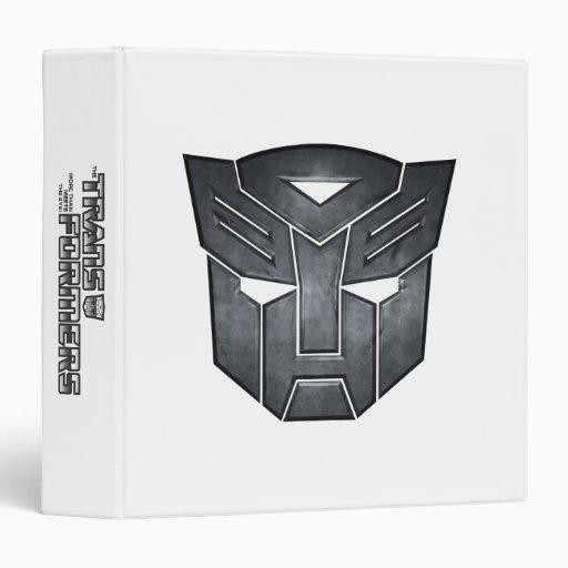 Autobot Shield Metal Vinyl Binder