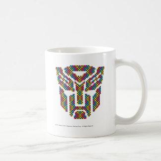 Autobot Shield Pixels Coffee Mug