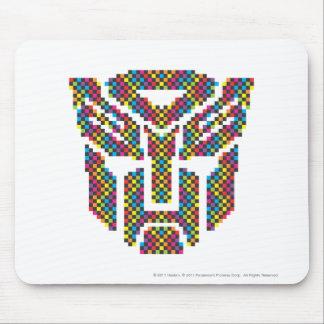 Autobot Shield Pixels Mouse Pad