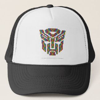 Autobot Shield Pixels Trucker Hat