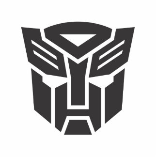 Autobot Shield Solid Cutout