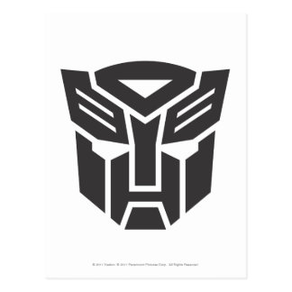 Autobot Shield Solid Post Card
