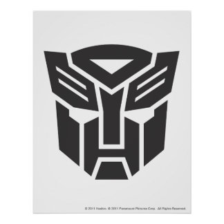 Autobot Shield Solid Poster