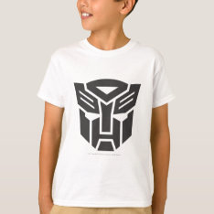 Autobot Shield Solid T-shirt at Zazzle