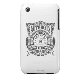 Autobot Speedometer iPhone 3 Cases