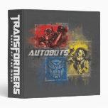 Autobots Stylized TF3 Group Binder