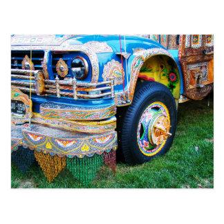 Autobús adornado, Washington, C.C. Tarjeta Postal