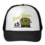 Autobús Boss - conductor masculino Gorras