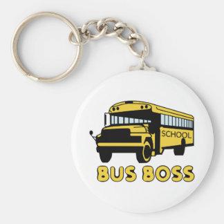 Autobús Boss Llavero Redondo Tipo Pin
