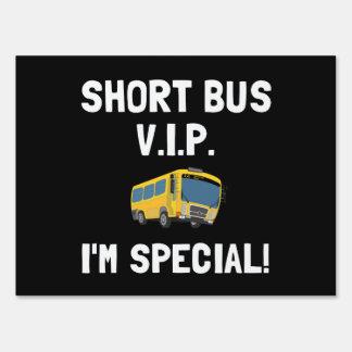 Autobús corto VIP Señales