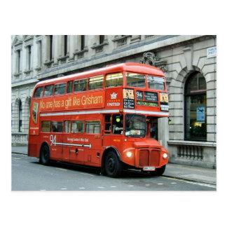 Autobús de autobús de dos pisos de Londres Postal