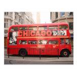 Autobús de Chicago, Londres… Tarjetas Postales
