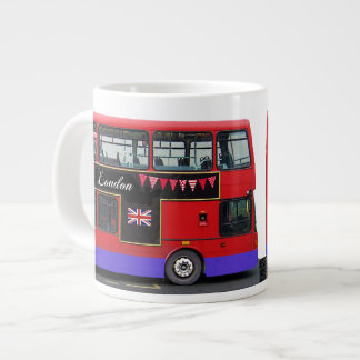 Autobús de dos pisos rojo del autobús de Londres Taza Jumbo