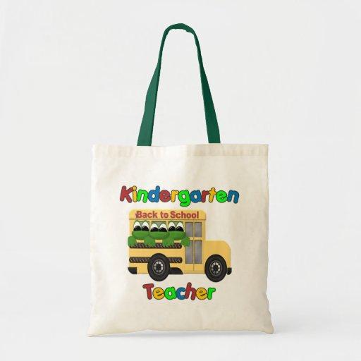 Autobús de Froggie del maestro de jardín de infanc Bolsa